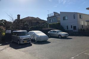 中海岸B駐車場 (アスファルト舗装)